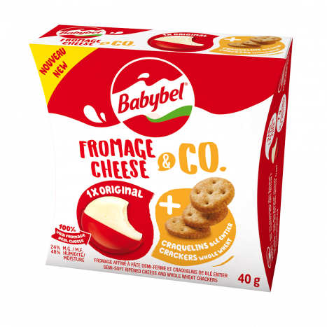 Babybel Cheese & Co - Whole Wheat Crackers